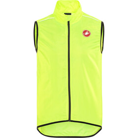 Castelli Squadra Long Vest Men yellow fluo